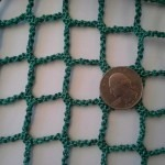 small green netting