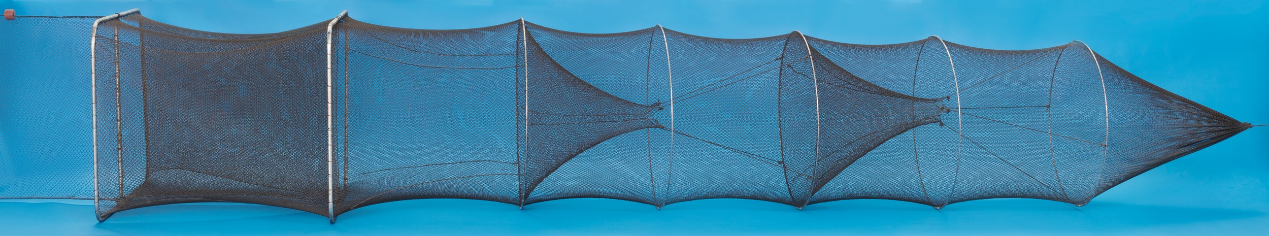 Fyke nets made in the usa duluth fish nets an h for Fish trap net
