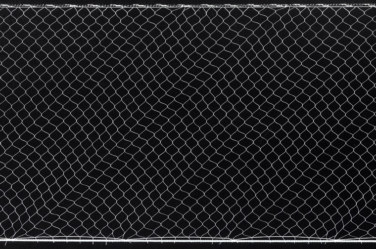 """Standard Gill Net with 3/8"""" foamcore and 30lb leadcore."""