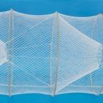 hoop net with fiberglass hoops