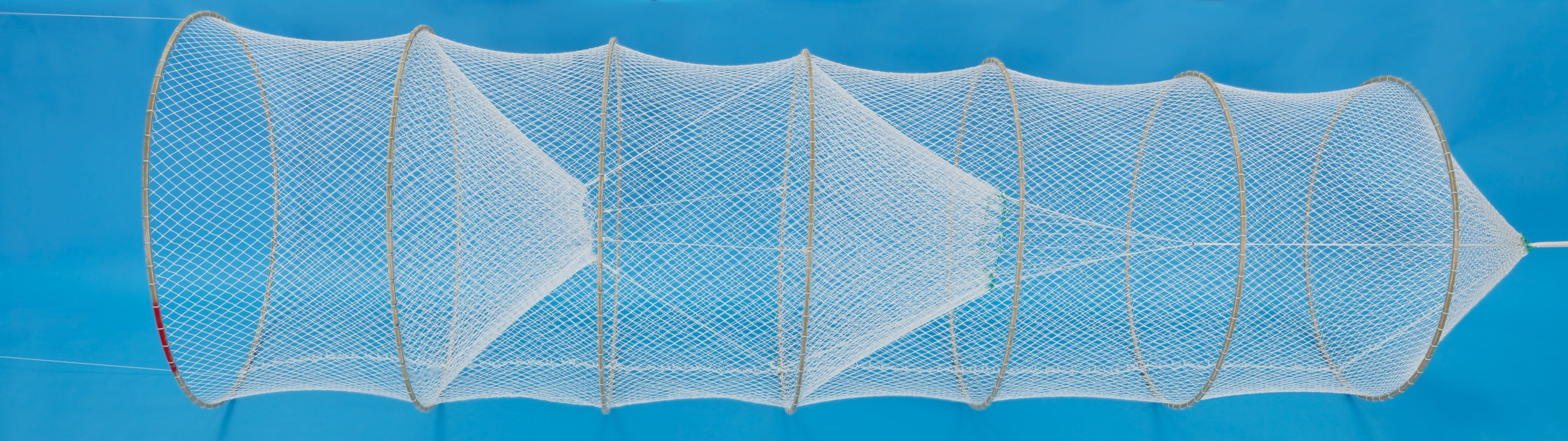Hoop nets fish netting duluth fish nets an h for Fish net company