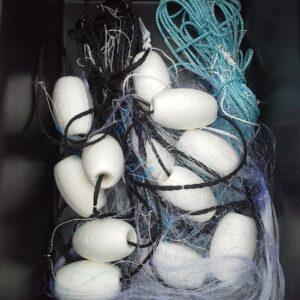 Menhaden Net with Floats
